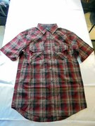 シャツS/S Plaid ShortSleeve Shirt