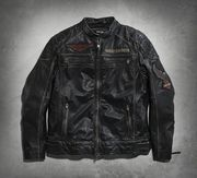 レザーJKT/ Annex Distressed LeatherJacket