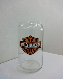 グラス/Bar & Shield Logo Soda Can Glass