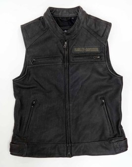 レザーベスト/Passing Link Leather Vest