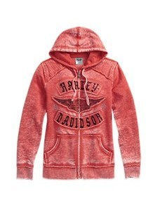 LD'Sパーカ/Burnout Coral Hoodie