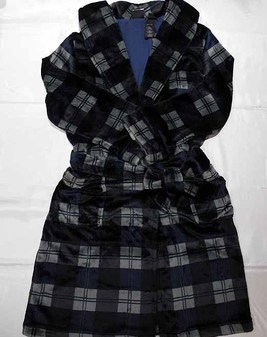 ローブ/ Plaid Lounge Robe