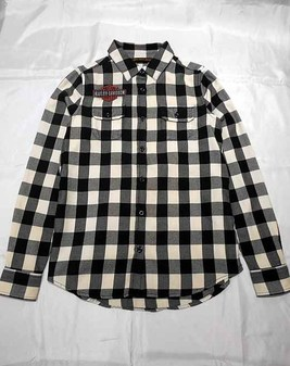 LD'SシャツL/S / V-Twin EaglePlaid Shirt